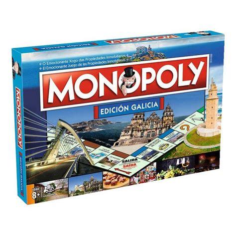 Monopoly Galicia  Edición Exclusiva Castellano/Gallego