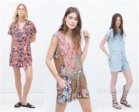 Monos de vestir Zara 2015 de todos los estilos: de fiesta ...
