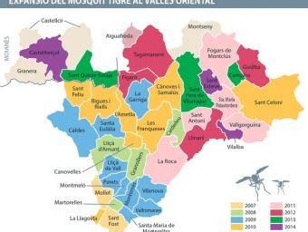 Montseny ja és l'únic municipi vallesà sense el mosquit ...