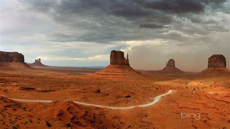 Monument Valley Arizona Fond d écran Bing Aperçu ...