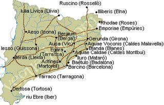 Monuments romans a Catalunya: Vies Romanes a Catalunya