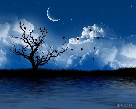 Moon: Silent at its Best… | Artistic wallpaper, Pretty ...