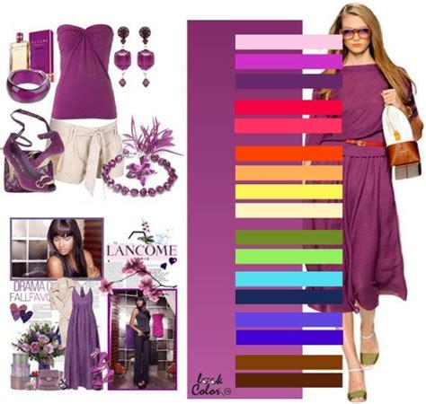 Morado en 2019 | Combinacion colores ropa, Combinar ...