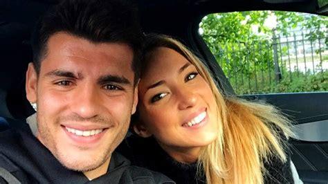 Morata y Alice Campello no esperan un hijo, sino dos   AS.com