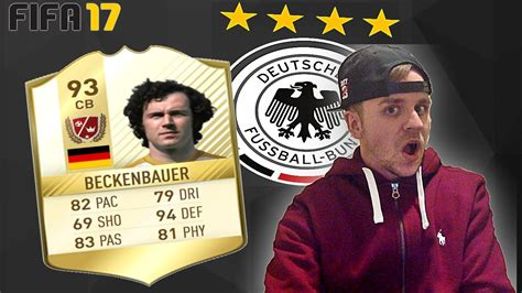 MORE PACKS + NEW LEGEND BECKENBAUER!   FIFA 17 ULTIMATE ...