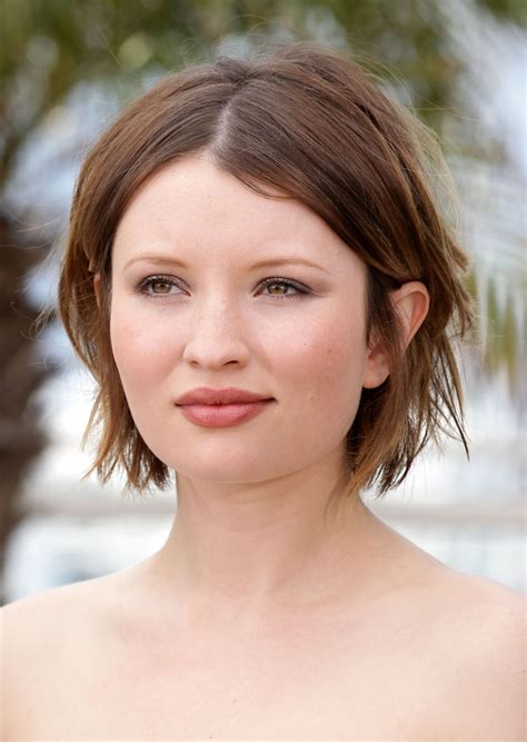 More Pics of Emily Browning Short Straight Cut  26 of 46 ...