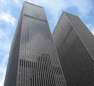 Morgan Stanley NYC is a 22 level hi rise building ...
