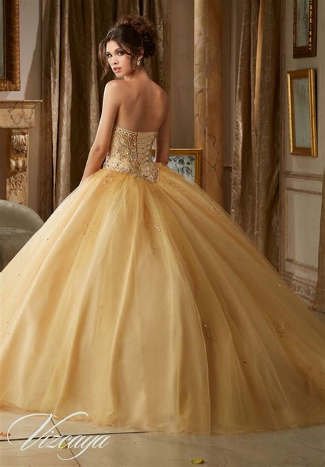 Morilee Vizcaya Quinceanera Dress 89109 GEMSTONE BEADING ...