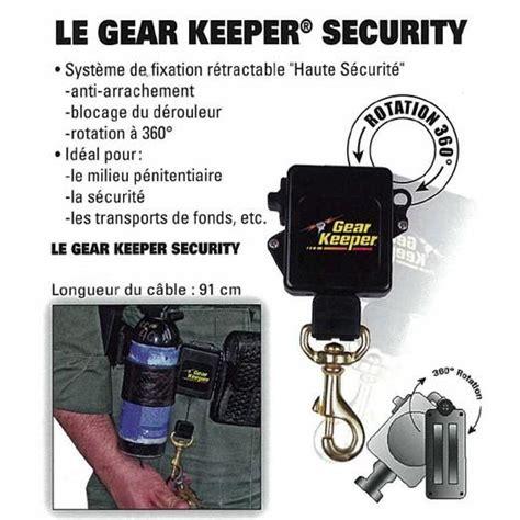 Morin   Gear keeper Security