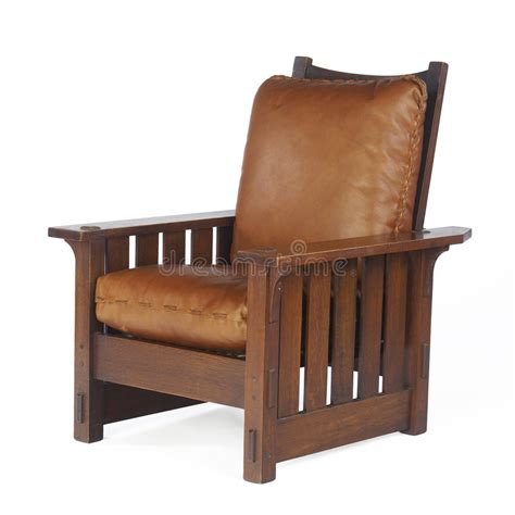 Morris Chair With Leather Cushions Editorial Stock Photo ...