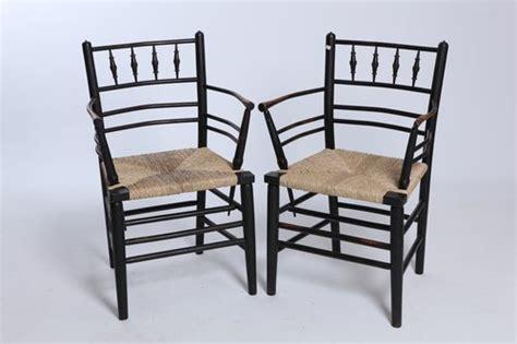 Morris & Co. Sussex Chairs   Antiques Atlas
