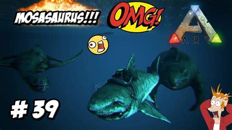 MOSASAURUS!!! EL MONSTRUO MARINO MAS GRANDE! // #ARK 2 mod ...