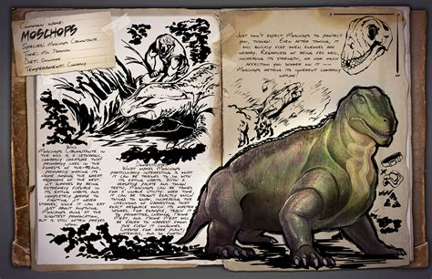 Moschops | ARK: Survival Evolved Wiki | FANDOM powered by ...