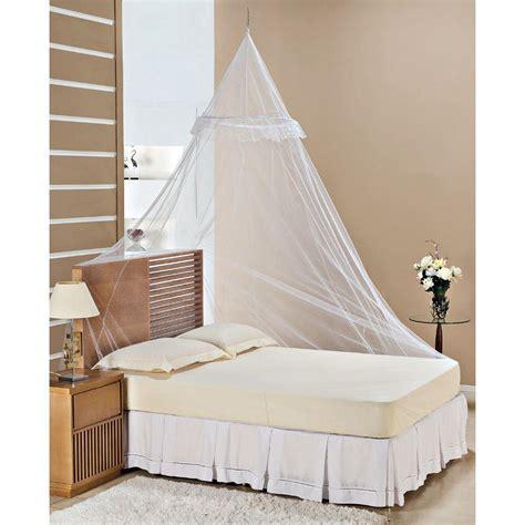Mosquiteiro de teto com aro para cama casal queen   PT ...