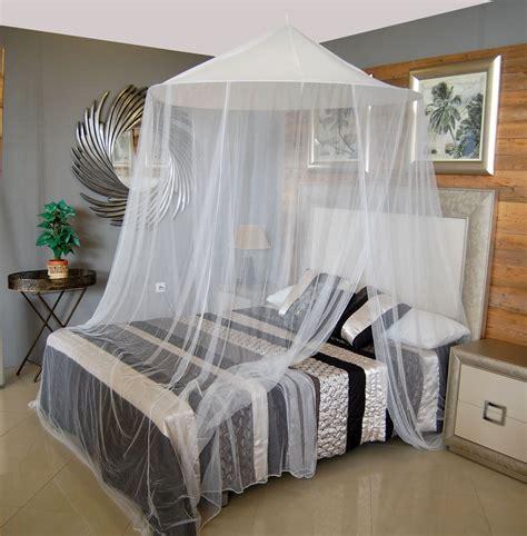 Mosquitera para cama KING BANGLA blanca