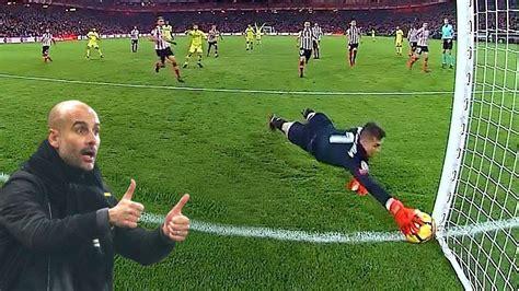 Most Heroic Goalkeeper Saves 2017/18 HD   YouTube