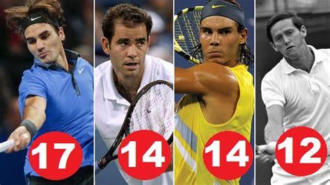 Most Tennis Grand Slam Titles Winners  Mens & Women