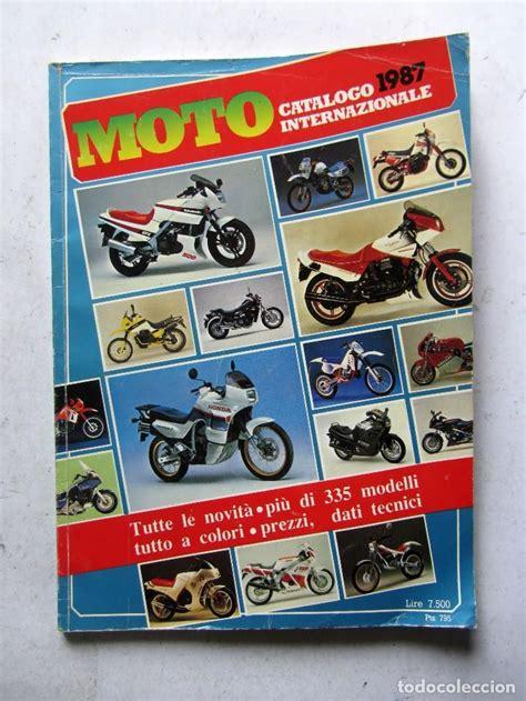 moto catálogo internazionale 1987 tutte le n   Comprar ...