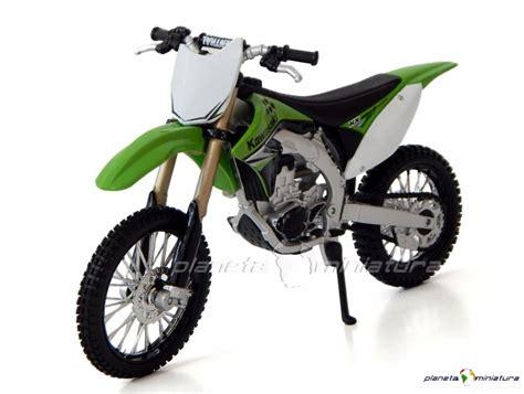 Moto Cross Coleção Trilha Kawasaki Kx 450f Verde 1:12 ...