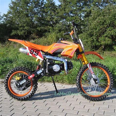 Moto cross Dirt bike 125cc, orange, livraison incluse   Le ...