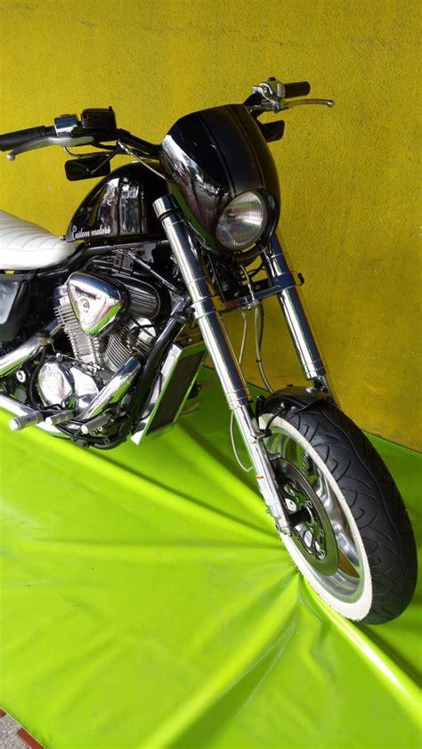 Moto Custom Chopper Honda Shadow Vlx 600cc 1997   $ 20.000 ...