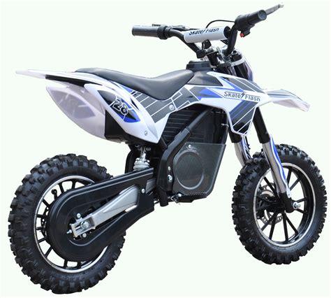 Moto de trial eléctrica 500 W SKATEFLASH DIRT Azul   Conforama