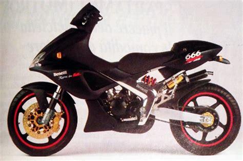 Moto del día: Benelli 666  espíritu RACER moto