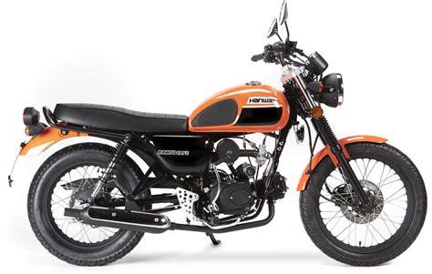 Moto del día: Hanway Raw 50 | espíritu RACER moto