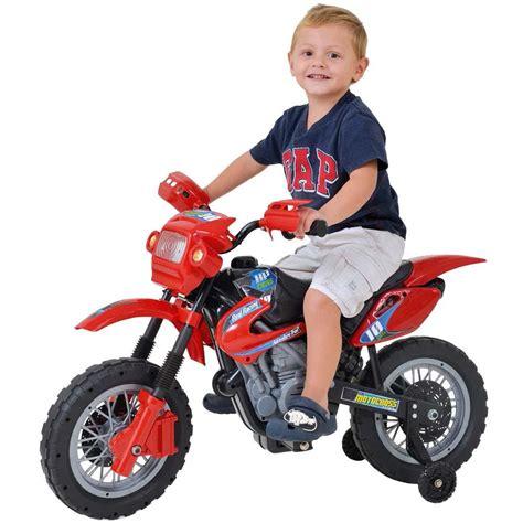 Moto Elétrica Homeplay Motocross   Vermelha   Moto ...