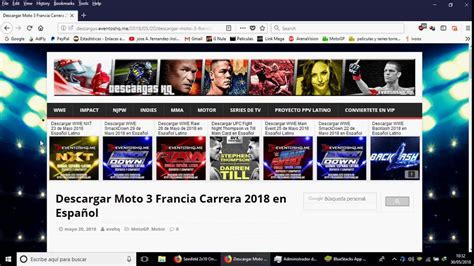 Moto GP,F1,todos los eventos deportivos en diferido 2018 ...