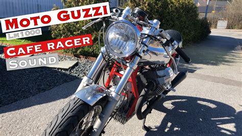 Moto Guzzi Cafe Racer 2020 Sound   YouTube
