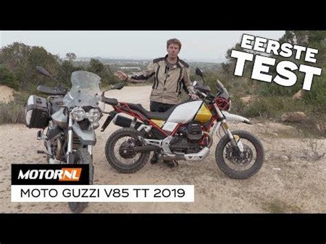 Moto Guzzi V85TT 2019 Eerste Test #Vlog   YouTube