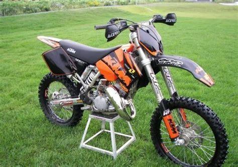 moto ktm sx 125 orange, moto cross occasion [AnnoncesMX.com]