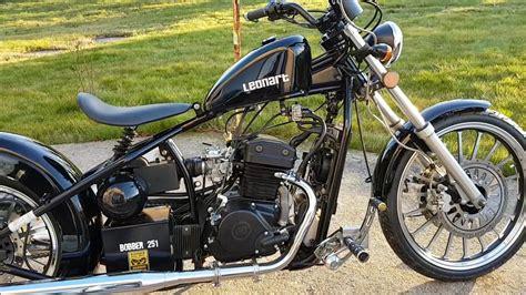 Moto LEONART bobber 125 cc   YouTube