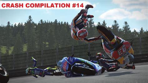 MotoGP 17   Crash Compilation #14   PC GAMEPLAY   TV ...