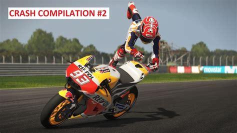 MotoGP 17   Crash Compilation #2   PC GAMEPLAY   TV REPLAY ...