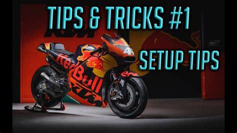 Motogp 17 Tips & Tricks #1   How to Setup a bike   YouTube