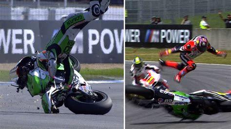 MotoGP 2014 Biggest crashes   YouTube