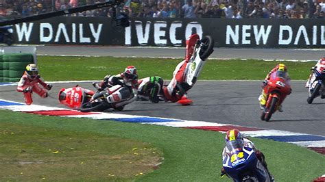 MotoGP Assen 2014    Biggest crashes   YouTube