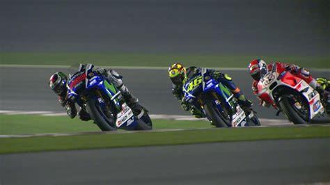 MotoGP Qatar 2015    Best Action   YouTube
