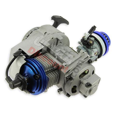 * Motor completo 53cc UD Racing para mini motos   AZUL ...