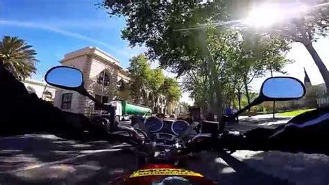 Motorbike practise A2 in Barcelona   Práctica de moto A2 ...