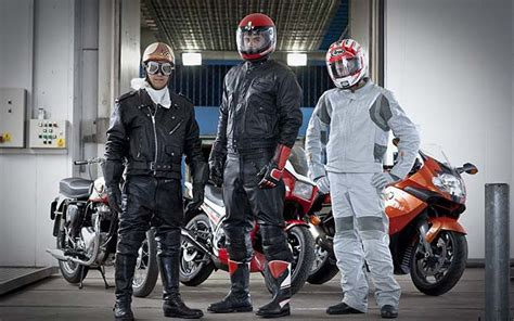 Motorcycle clothing tested   Telegraph