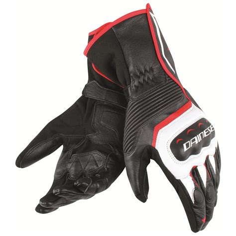 Motorcycle Gloves DAINESE ASSEN white/black/red ...