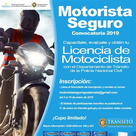Motorista Seguro 2019 | Departamento de Tránsito de la ...