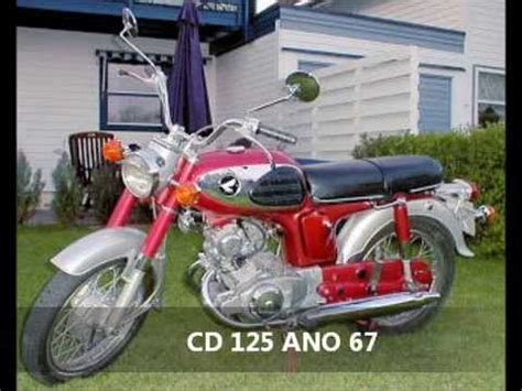 MOTOS ANTIGAS, PRIMEIRA MOTO HONDA 125CC   YouTube