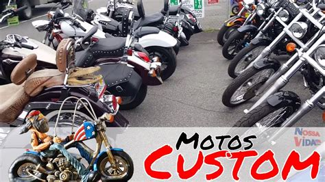 Motos Custom BARATAS nos Estados Unidos   YouTube