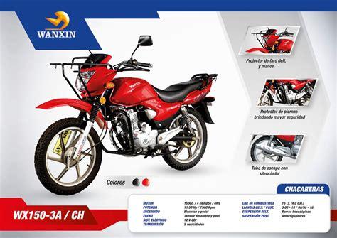 MOTOS WANXIN: Catálogo de motos