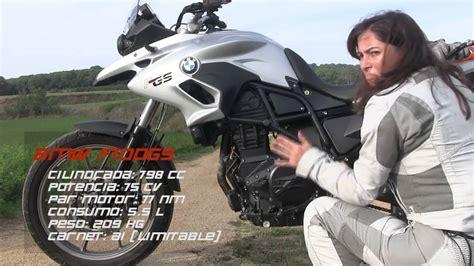 Motosx1000 : Test BMW F700GS by Alicia Sornosa   YouTube