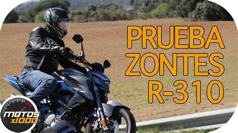 Motosx1000: Test Zontes R 310   YouTube
